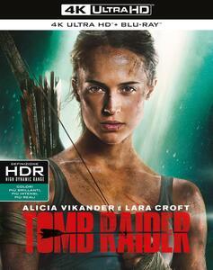 Tomb Raider (Blu-ray + Blu-ray 4K Ultra HD) di Roar Uthaug - Blu-ray + Blu-ray Ultra HD 4K - 2