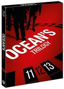 Ocean's Trilogy (3 Blu-ray) di Steven Soderbergh