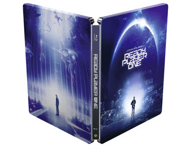 Ready Player One. Con Steelbook (Blu-ray) di Steven Spielberg - Blu-ray - 3
