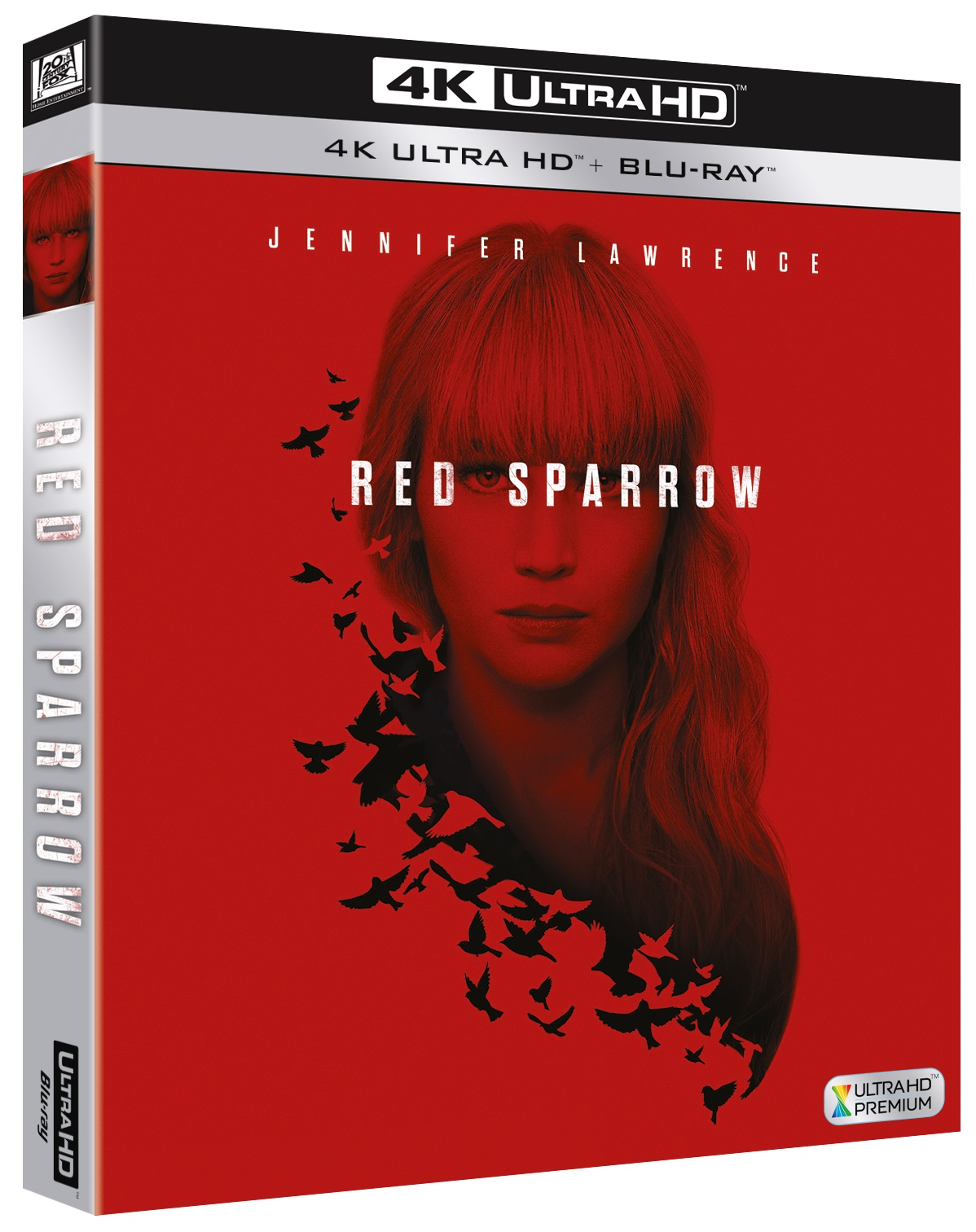 Cover Dvd DVD Red Sparrow