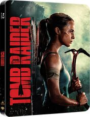 Film Tomb Raider. Con Steelbook (Blu-ray) Roar Uthaug