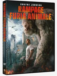 Rampage. Furia animale (DVD) di Brad Peyton - DVD