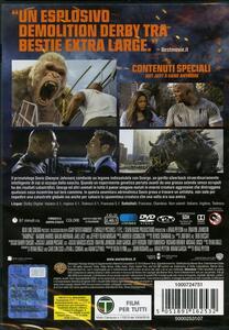 Rampage. Furia animale (DVD) di Brad Peyton - DVD - 2