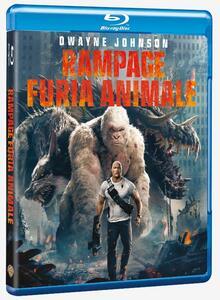 Rampage. Furia animale (Blu-ray) di Brad Peyton - Blu-ray