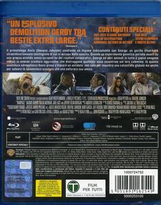 Rampage. Furia animale (Blu-ray) di Brad Peyton - Blu-ray - 2
