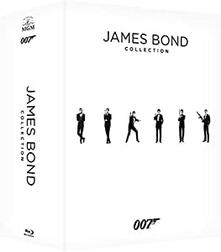 007 James Bond Complete Collection (24 Blu-ray) di Martin Campbell,John Glen,Peter R. Hunt,Roger Spottiswoode,Terence Young