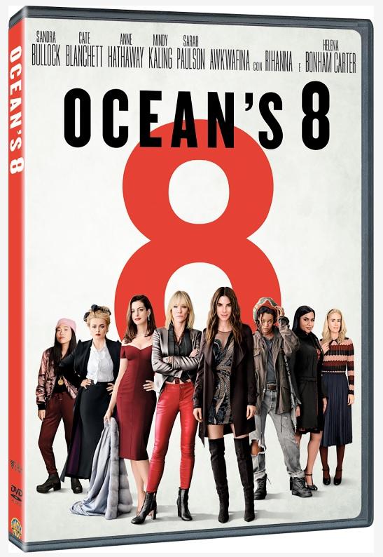 Cover Dvd DVD Ocean's 8