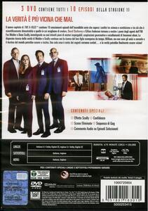 X Files. Stagione 11. Serie TV ita (3 DVD) di Chris Carter - DVD - 2