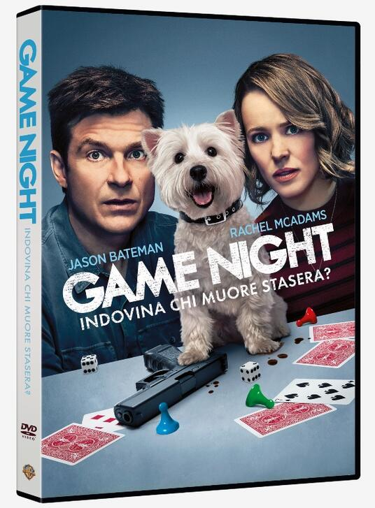 Game Night. Indovina chi muore stasera? (DVD) di John Francis Daley,Jonathan Goldstein - DVD