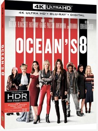 Cover Dvd Ocean's Eight (Blu-ray Ultra HD 4K)