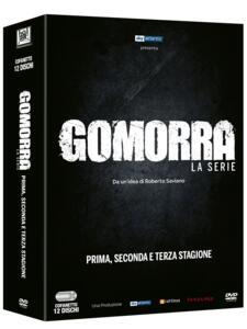 Gomorra. La serie. Stagioni 1-2-3 (12 DVD) - DVD