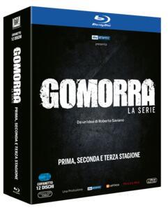 Film Gomorra. La serie. Stagioni 1-2-3 (12 Blu-ray) Stefano Sollima Francesca Comencini Claudio Cupellini