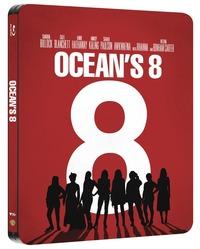 Cover Dvd Ocean's Eight. Con Steelbook (Blu-ray)