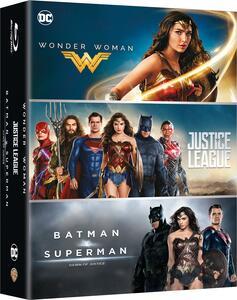 Cofanetto Boxset DC 3 Movies (3 Blu-ray) di Patty Jenkins,Zack Snyder
