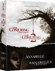 Film Cofanetto Conjuring Collection (4 Blu-ray) James Wan John R. Leonetti David F. Sandberg