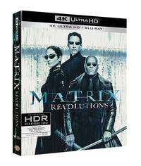 Cover Dvd Matrix Revolutions (Blu-ray + Blu-ray 4K Ultra HD)