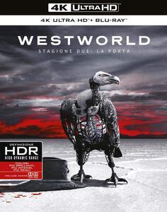 Film Westworld. Stagione 2. Serie TV ita (Blu-ray + Blu-ray Ultra HD 4K) Jonathan Nolan Fred Toye Jonny Campbell Richard J. Lewis