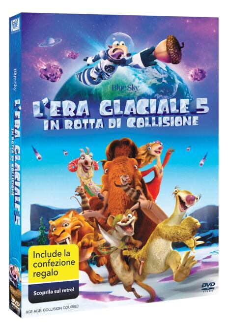 L' era glaciale 5. In rotta di collisione. Gift Pack (DVD) di Mike Thurmeier,Galen Tan Chu - DVD