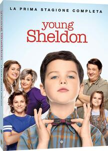 Film Young Sheldon. Stagione 1. Serie TV ita (2 DVD) Jaffar Mahmood Howard Deutch Mark Cendrowski