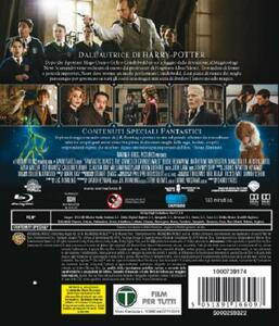 Animali fantastici: I crimini di Grindelwald (Blu-ray) di David Yates - Blu-ray - 2