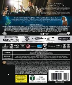 Animali fantastici: I crimini di Grindelwald (Blu-ray + Blu-ray Ultra HD 4K) di David Yates - Blu-ray + Blu-ray Ultra HD 4K - 2