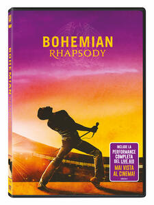 Film Bohemian Rhapsody (DVD) Bryan Singer