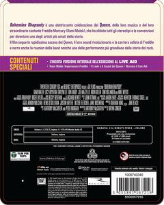 Bohemian Rhapsody. Con Steelbook (Blu-ray) di Bryan Singer - Blu-ray - 2