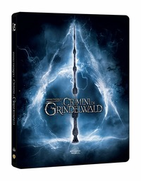 Cover Dvd Animali fantastici: I crimini di Grindelwald. Con Steelbook (Blu-ray)