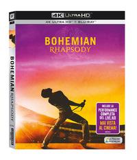 Cover Dvd Bohemian Rhapsody (Blu-ray + Blu-ray Ultra HD 4K)