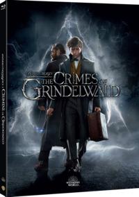 Cover Dvd Animali fantastici: I crimini di Grindelwald. Digibook (Blu-ray)