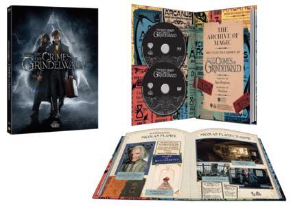Animali fantastici: I crimini di Grindelwald. Digibook (DVD+ Blu-ray) di David Yates - DVD + Blu-ray - 2