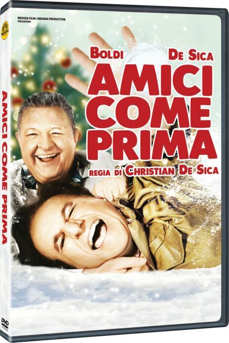 Amici come prima (DVD) di Christian De Sica - DVD