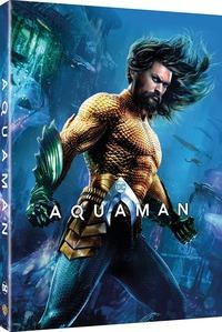 Cover Dvd Aquaman. Con Digibook (Blu-ray)