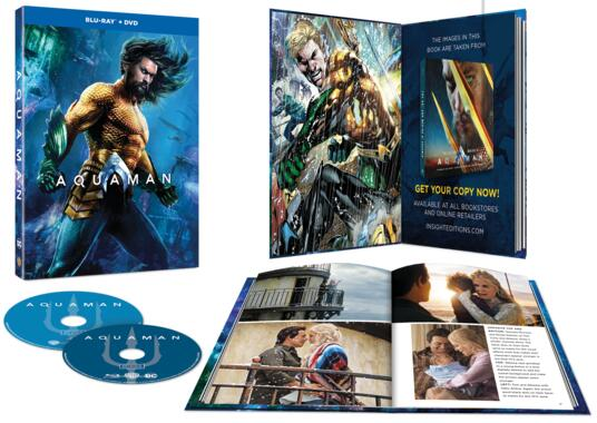 Aquaman. Con Digibook (Blu-ray) di James Wan - Blu-ray - 2