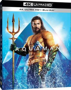 Aquaman (Blu-ray + Blu-ray 4K Ultra HD) di James Wan - Blu-ray + Blu-ray Ultra HD 4K