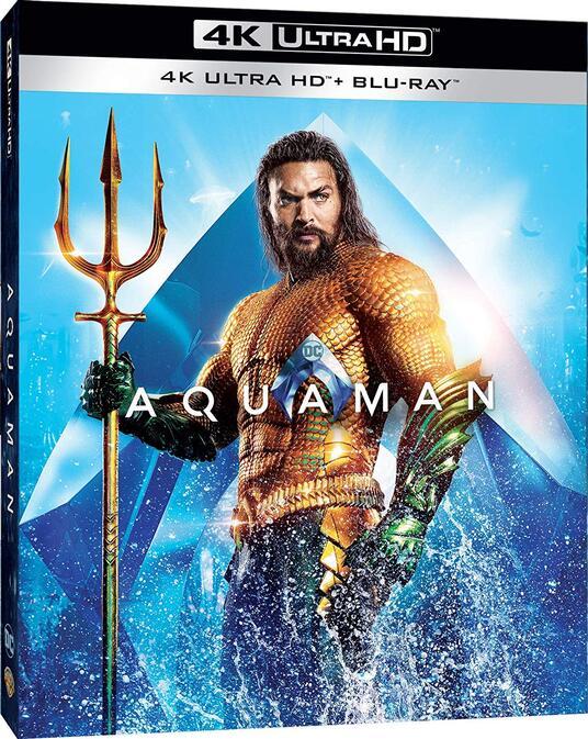 Aquaman (Blu-ray + Blu-ray 4K Ultra HD) di James Wan - Blu-ray + Blu-ray Ultra HD 4K