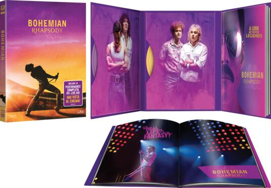 Bohemian Rhapsody. Digibook Edition con Album Fotografico (DVD + Blu-ray) di Bryan Singer - DVD + Blu-ray