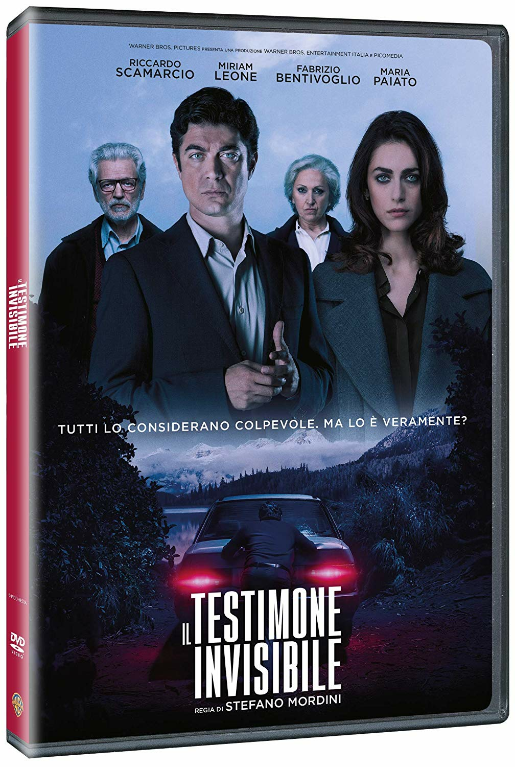 Cover Dvd DVD Il Testimone Invisibile
