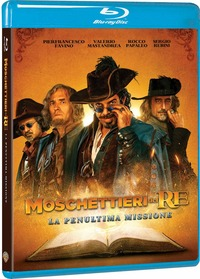 Cover Dvd Moschettieri del re. La penultima missione (Blu-ray)