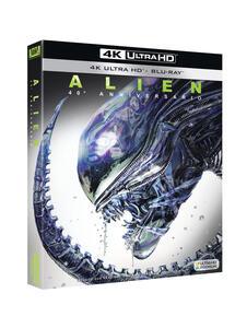 Alien (Blu-ray + Blu-ray Ultra HD 4K) di Ridley Scott - Blu-ray + Blu-ray Ultra HD 4K