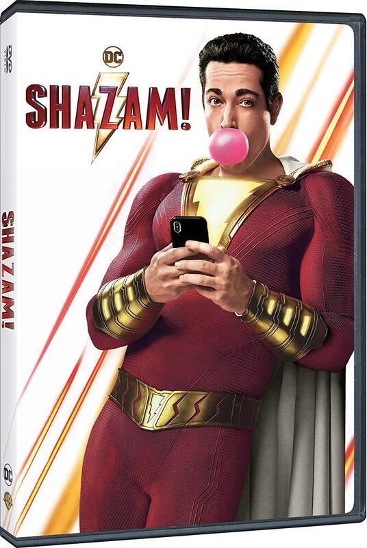 Shazam! (DVD) di David F. Sandberg - DVD