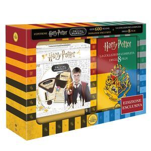 Cofanetto Harry Potter 1-8 con Trivial Pursuit Bitesize (8 DVD) di Chris Columbus,Alfonso Cuarón,Mike Newell,David Yates