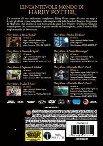Cofanetto Harry Potter 1-8 con Trivial Pursuit Bitesize (8 DVD) di Chris Columbus,Alfonso Cuarón,Mike Newell,David Yates - 5