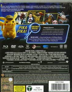 Detective Pikachu. Con Steelbook (Blu-ray) di Rob Letterman - Blu-ray - 2