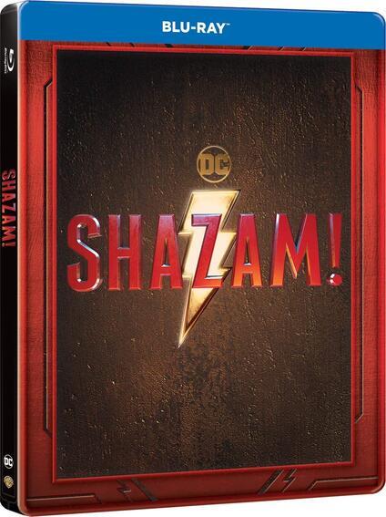 Shazam! Con Steelbook (Blu-ray) di David F. Sandberg - Blu-ray