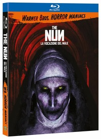 Cover Dvd The Nun. La vocazione del male. Horror Maniacs (Blu-ray)