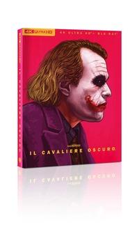 Cover Dvd Il cavaliere oscuro. Art Edition (Blu-ray + Blu-ray Ultra HD 4K)