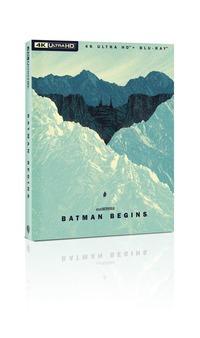 Cover Dvd Batman Begins. Art Edition (Blu-ray + Blu-ray Ultra HD 4K)
