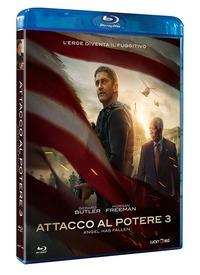 Cover Dvd Attacco al potere 3. Angel Has Fallen (Blu-ray)