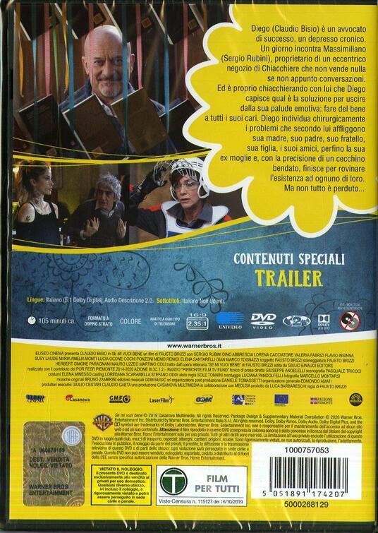 Se mi vuoi bene (DVD) di Fausto Brizzi - Blu-ray - 2